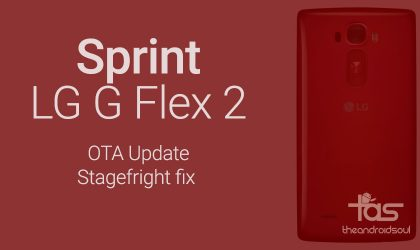 LS996ZV8 update for Sprint LG G G Flex 2 fixes Stagefright bug