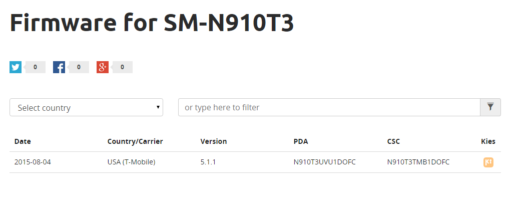 Update: Not compatible] N910T3UVU1DOFC firmware brings Android 5 1 1