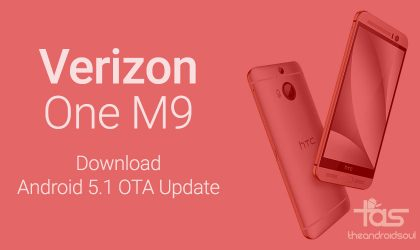 Download Verizon HTC One M9 Android 5.1 OTA Update v2.6.605.15 and install manually