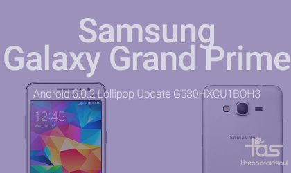 G530HXCU1BOH3: Samsung Galaxy Grand Prime receives Android 5.0 Lollipop update in Russia