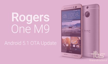 Rogers HTC One M9 also receiving Android 5.1 update
