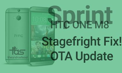 Sprint HTC One M8 receives Stagefright fixes OTA update in version 4.25.651.18
