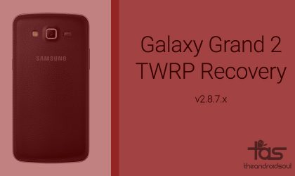 Samsung Galaxy Grand 2 TWRP Recovery v2.8.7.0: Downloads and Guide