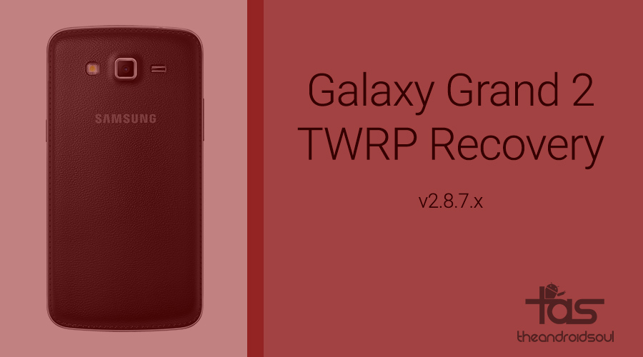 Twrp recovery install grand 2