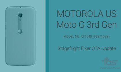 Download Moto G 3rd Gen OTA update for US [XT1540]