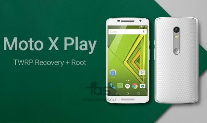 Moto X Play Root and TWRP Recovery