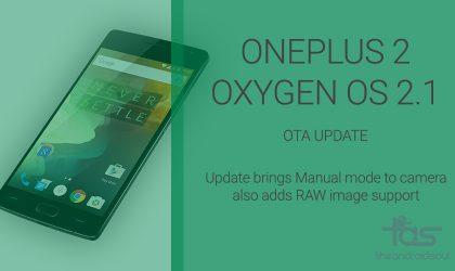 Download OnePlus 2 Oxygen OS 2.1 update OTA and Full ROM Zip