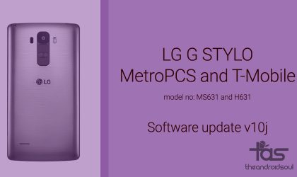 MetroPCS and T-Mobile LG G Stylo update: Download latest software version MS63110j and H63110j