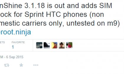 SIM Unlock Sprint HTC phones (One M7/M8/Desire/etc.) with SunShine 3.1.18
