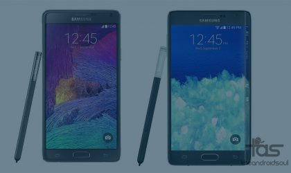 AT&T Galaxy Note 4 and Note Edge getting Android 5.1.1 update, build N910AUCU2DOI2 and N915AUCU2COI2 respectively
