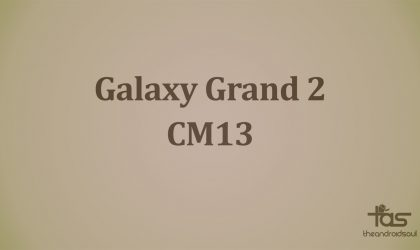 Galaxy Grand 2 CM13 brings Marshmallow update unofficially