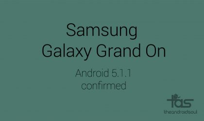 Samsung Galaxy Grand On Specs: Android 5.1.1 comes pre-installed as firmware leaks