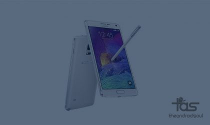 Canada Galaxy Note 4 Android 5.1.1 Root for build N910W8VLU1COI4 [SM-N910W8]