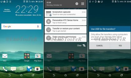 HTC One M8 Marshmallow update leaked in screenshots