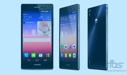 Download Huawei Ascend P7 Android 5.1.1 update firmware