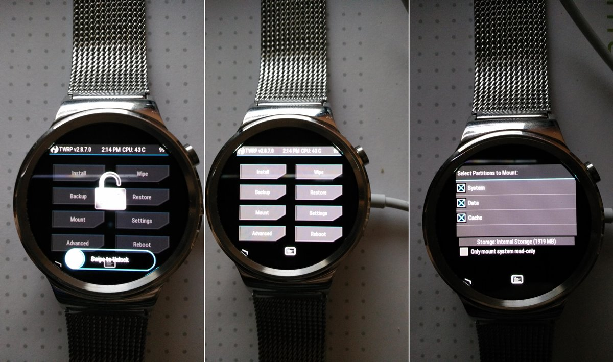How to Install TWRP Recovery on Huawei Watch