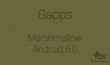 Download Marshmallow Gapps [Working]