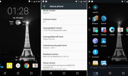 Nexus 4 CM13 brings Marshmallow Update unofficially