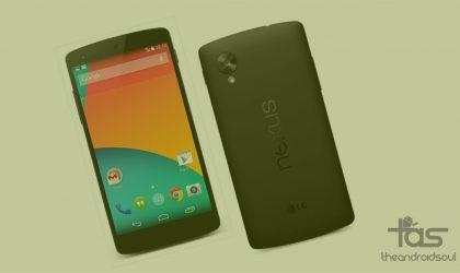 PSA: Download Nexus 5 Marshmallow Update OTA zip, it's available now!