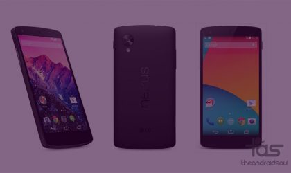 Download Stock Recovery for Nexus 5, 6, 7, 9 and Player (Android 5.1.1 Lollipop and Android 6.0 Marshmallow)