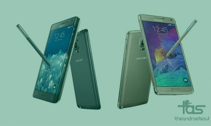 [Download] Galaxy Note 4 (N910G) and Note Edge (N915G) Android 5.1.1 update released [build OH4 and OI1]