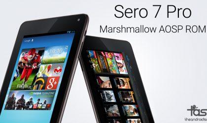 Download Sero 7 Pro Marshmallow Update [AOSP ROM]