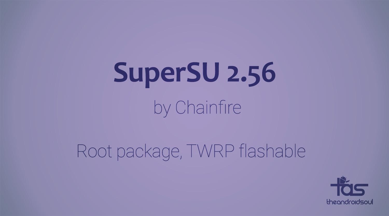 Download SuperSU 2 56