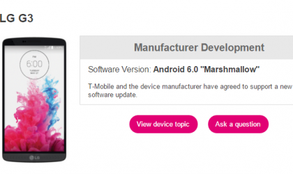 T-Mobile LG G3, G4 and G Stylo Marshmallow update confirmed, no release details yet though