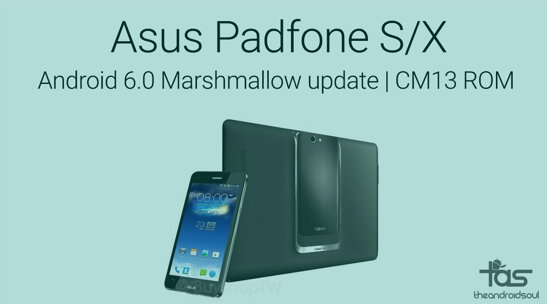Андроид 6.0 для asus padfone s