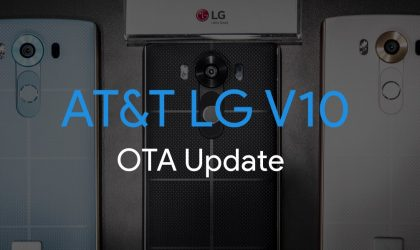 AT&T LG V10 getting OTA update (H90010F), but it's not Marshmallow