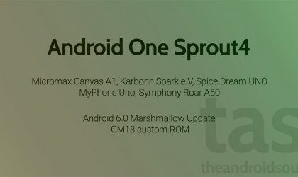 Android One Sprout4 CM13 ROM [Download]