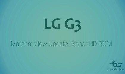 No LG G3 CM13 yet but Marshmallow update available via XenonHD ROM