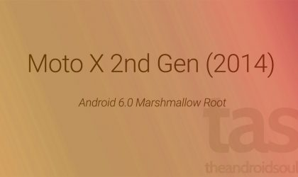 2014 Moto X 2nd Gen Marshmallow Root