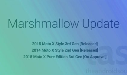 Motorola releases Moto X2 and Moto X Style Marshmallow Update in India and Brazil