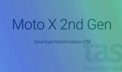 Download Marshmallow OTA for Moto X 2nd Gen (2014)