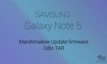 [TAR] Download T-Mobile Galaxy Note 5 Marshmallow update firmware