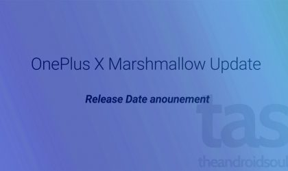 OnePlus X Android 6.0 Marshmallow release date announced!