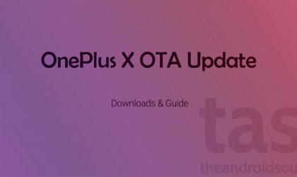 Download OnePlus X OTA update version Oxygen OS 2.1.2