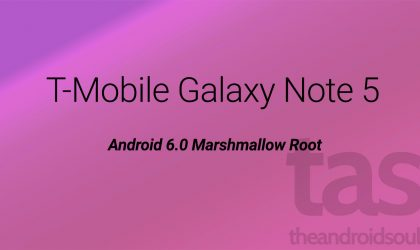 T-Mobile Galaxy Note 5 Marshmallow Root [Android 6.0 2DOK5]