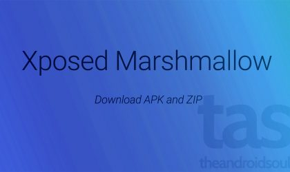 Download Marshmallow Xposed APK & ZIP