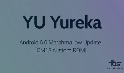 YU Yureka CM13 gets you Android 6.0 Marshmallow Update unofficially