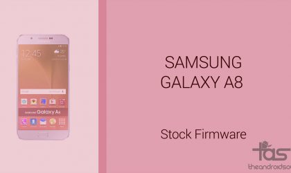 Galaxy A8 Firmware download [stock ROM, all variants]