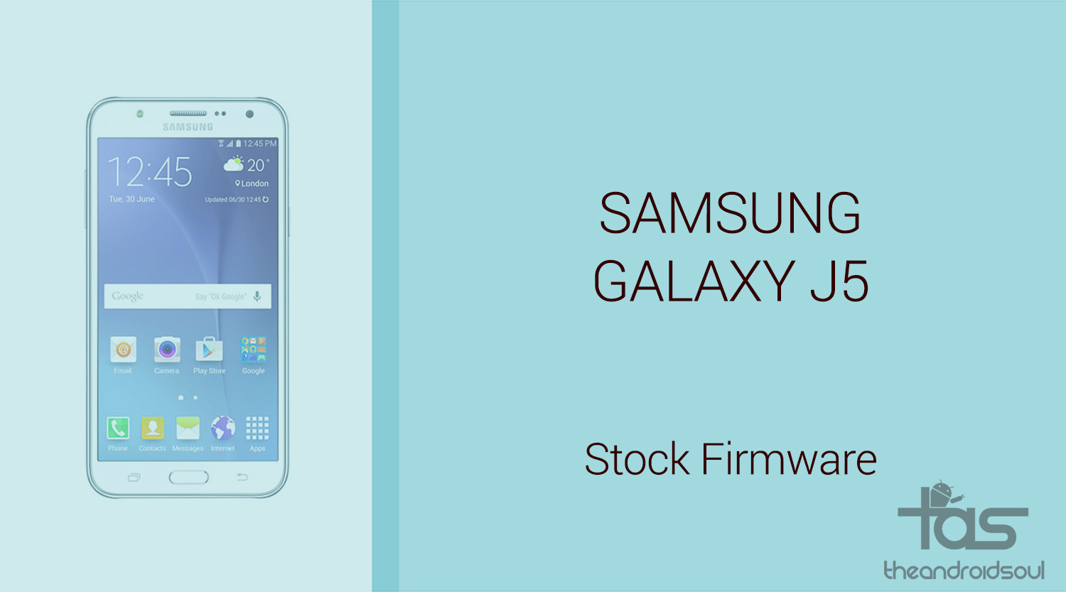 Galaxy J5 Firmware download [stock ROM, all variants]