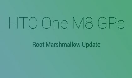 Root One M8 Marshmallow Update