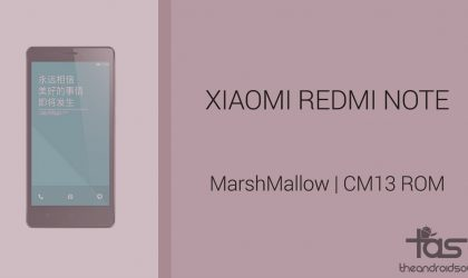 Download Xiaomi Redmi Note 4G CM13 for Marshmallow Update