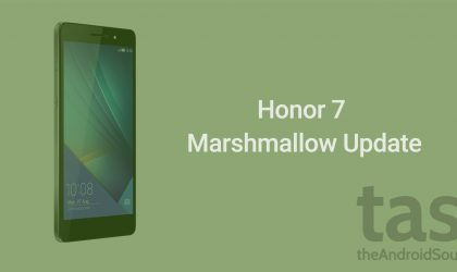 Huawei Honor 7 Marshmallow update release is set for Feb 2016