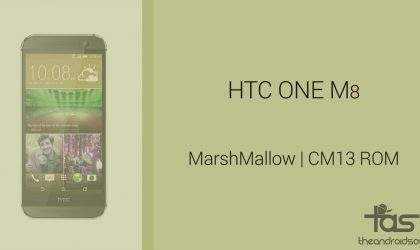 Download HTC One M8 Marshmallow Update: CM13 and other ROMs