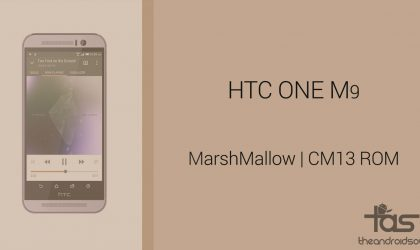 Download HTC One M9 Marshmallow Update: CM13 and other ROMs