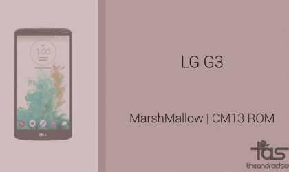 Download LG G3S (G3 Beat) Marshmallow Update: CM13 and other ROMS
