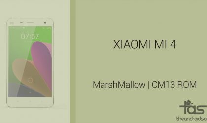 Download Xiaomi Mi4 Marshmallow Update: CM13 and other ROMS